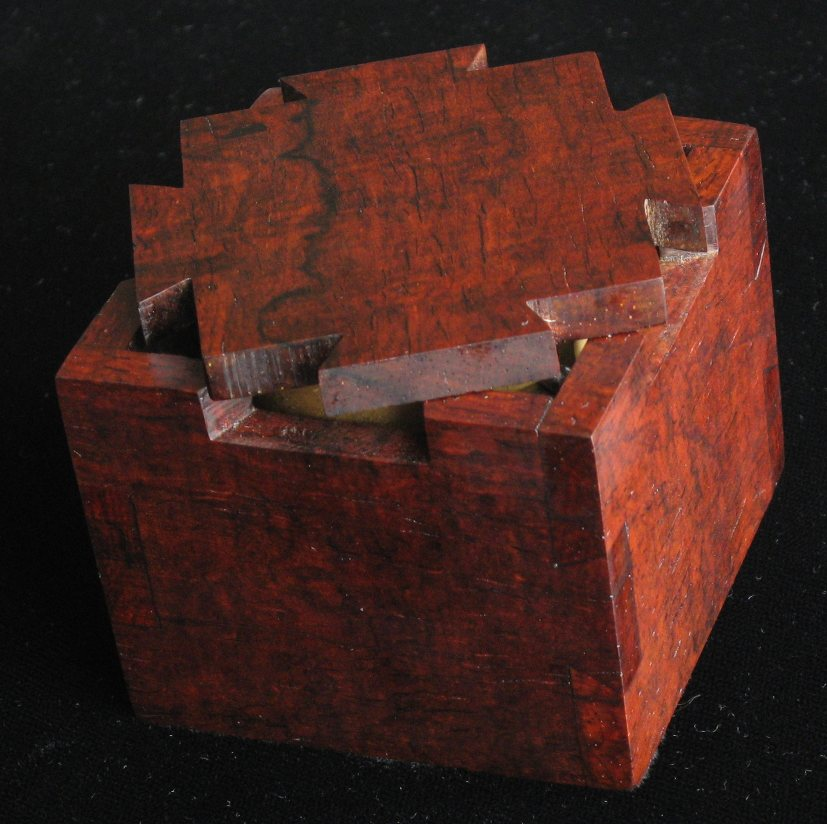 Wooden Puzzle Box Design